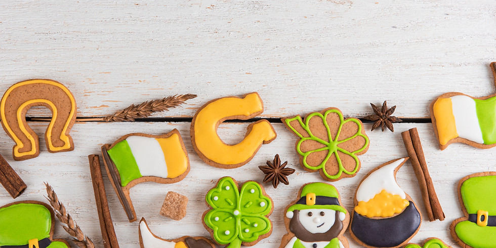 Luck of the Irish Day Cookie Decorating Class