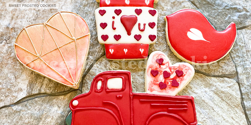 Date Night Couples Valentines Cookie Decorating Class