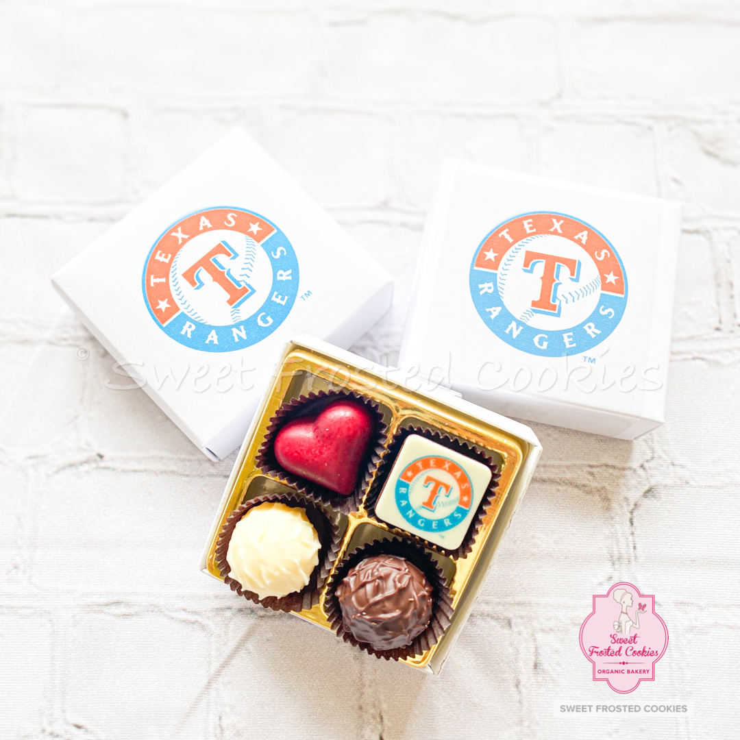 Logo Decorated Truffles