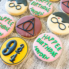 Harry Potter Decorated Cookies