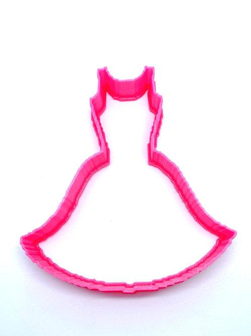 Ladies Summer Dress Cookie Cutter