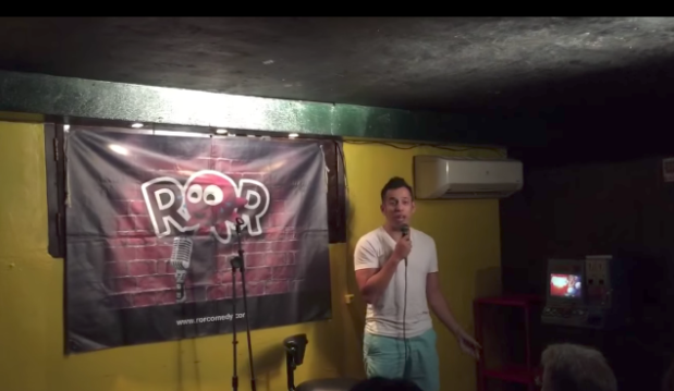 Giving ROR Comedy a brand, our new banner.