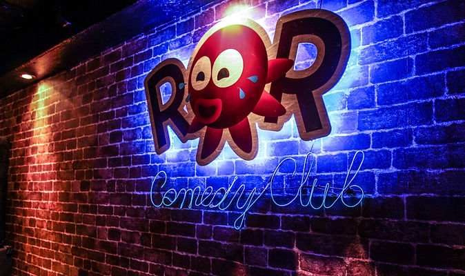 Visit ROR Comedy for laughs in Dotunburi, the best Osaka restaurant area!