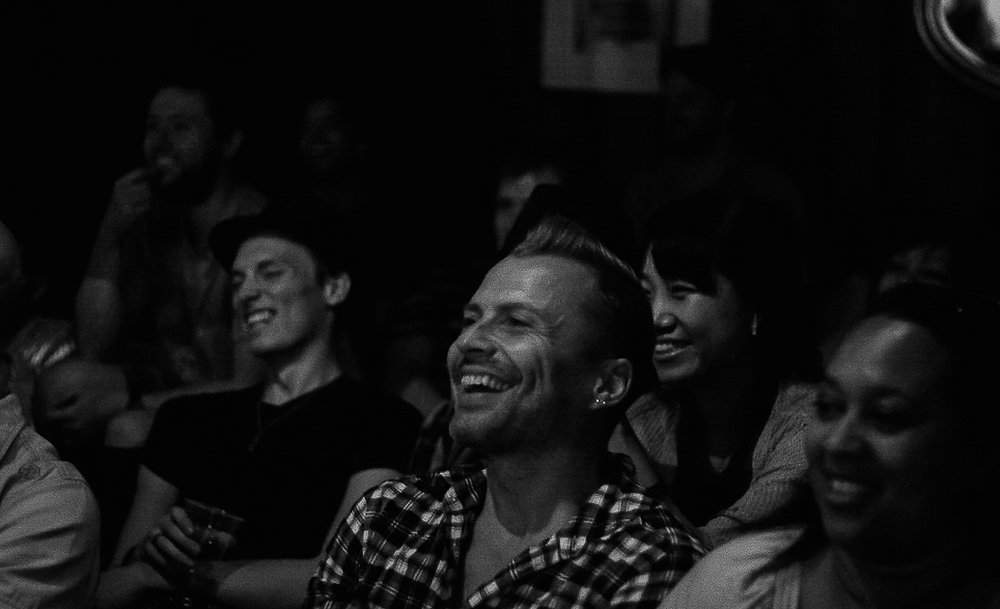 The audience in our Osaka club hotspot.