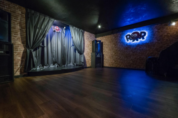 Asia's only stand alone comedy club, ROR comedy with new flooring added this month.