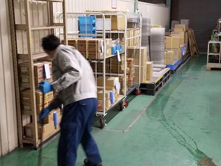 組立エリアと検査環境の整備-㈱佐渡島テック