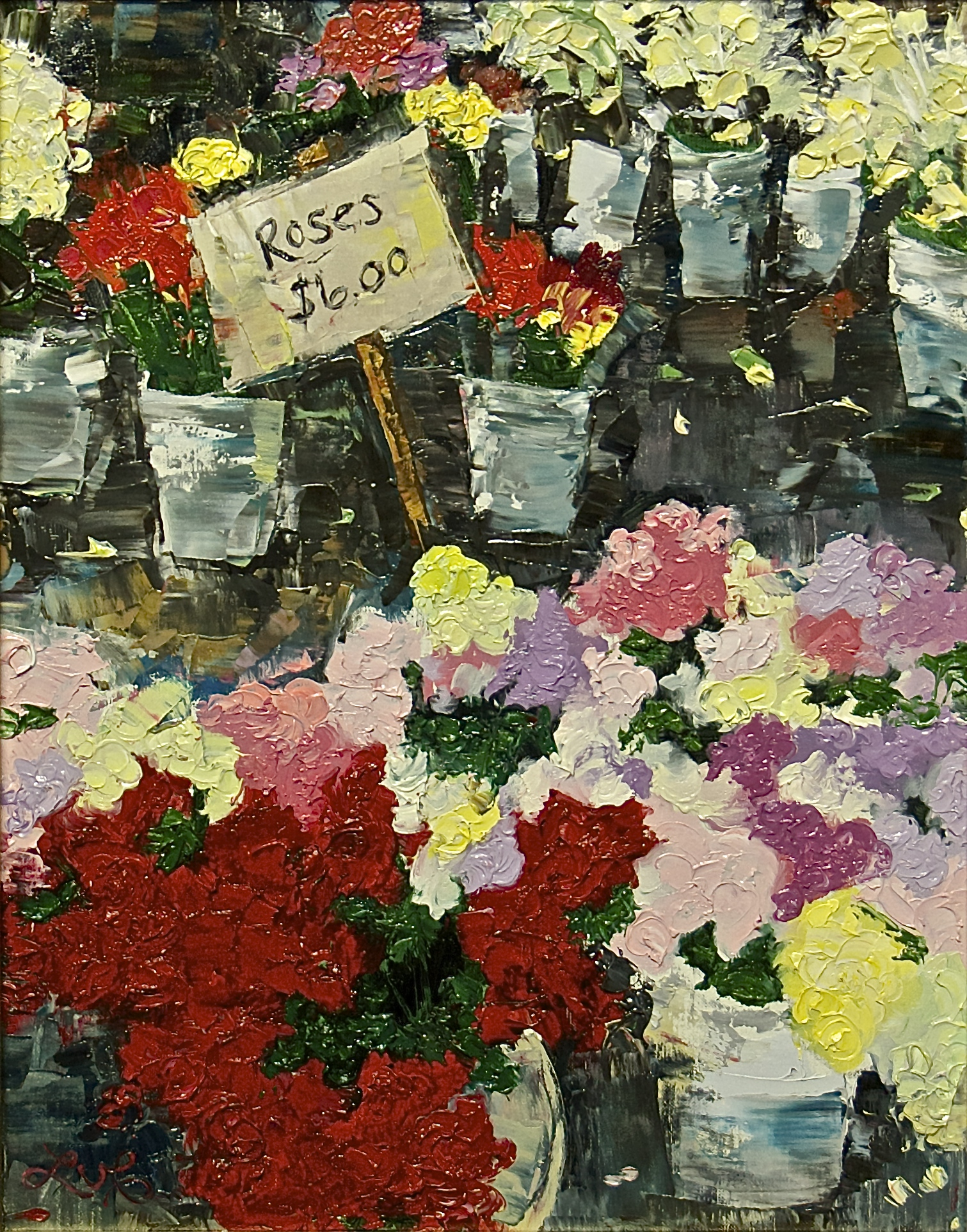Roses at the Market