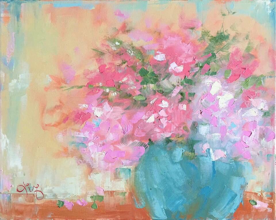 Flowers Alla Prima