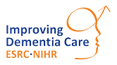 Improving Dementia Care ESRC NIHR logo