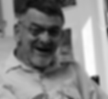 Elderly man wearing  glasses smiling