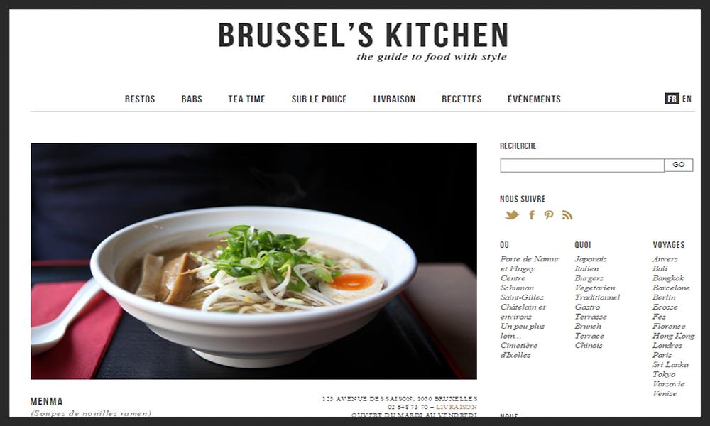 Menma par Brussel's Kitchen