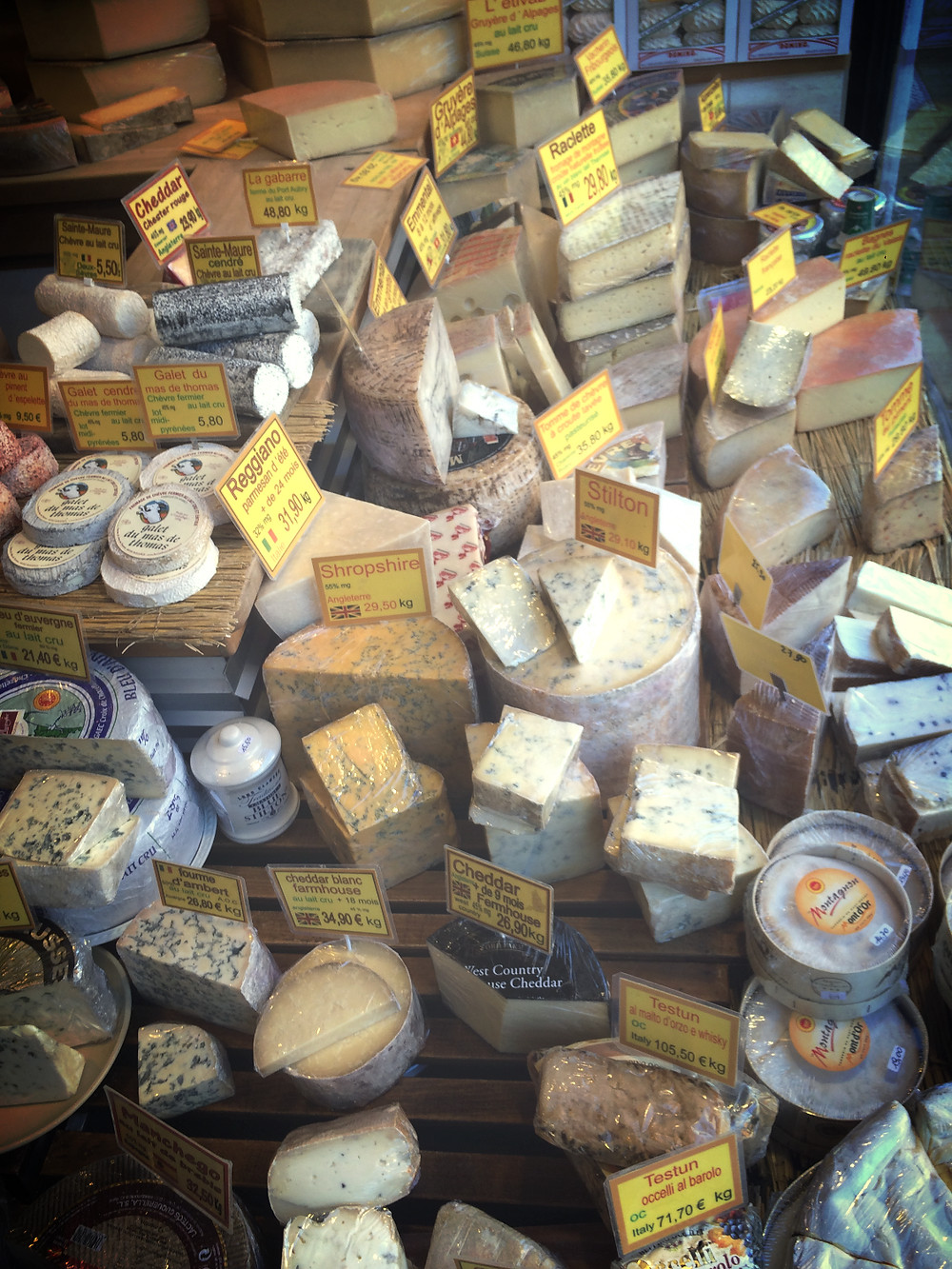 Sélection de fromages Fromageon