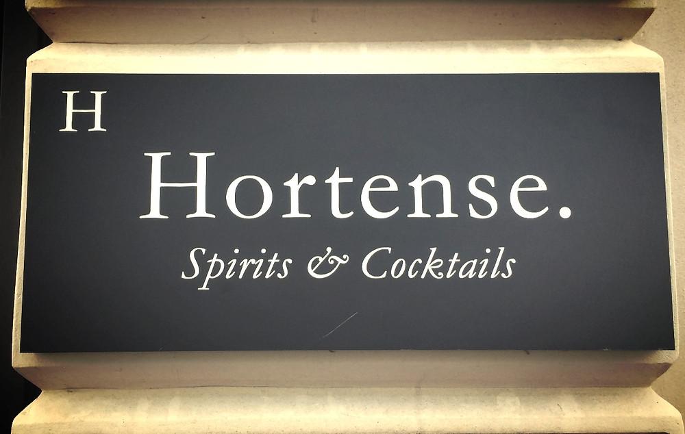 Plaque Hortense
