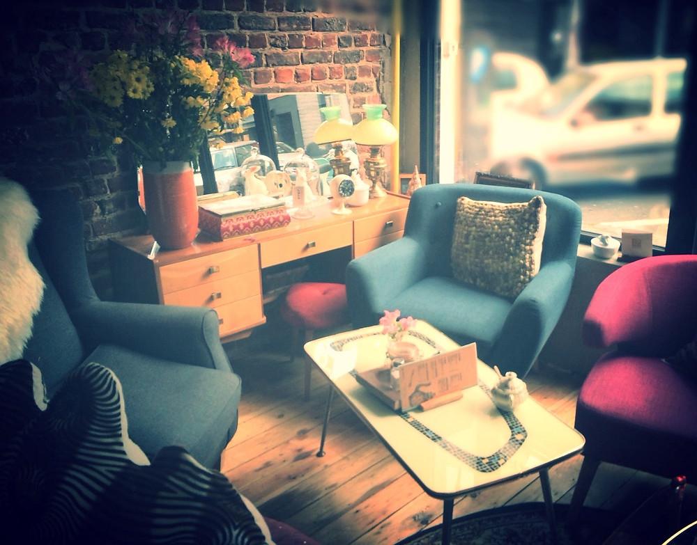 Table du café Lulu