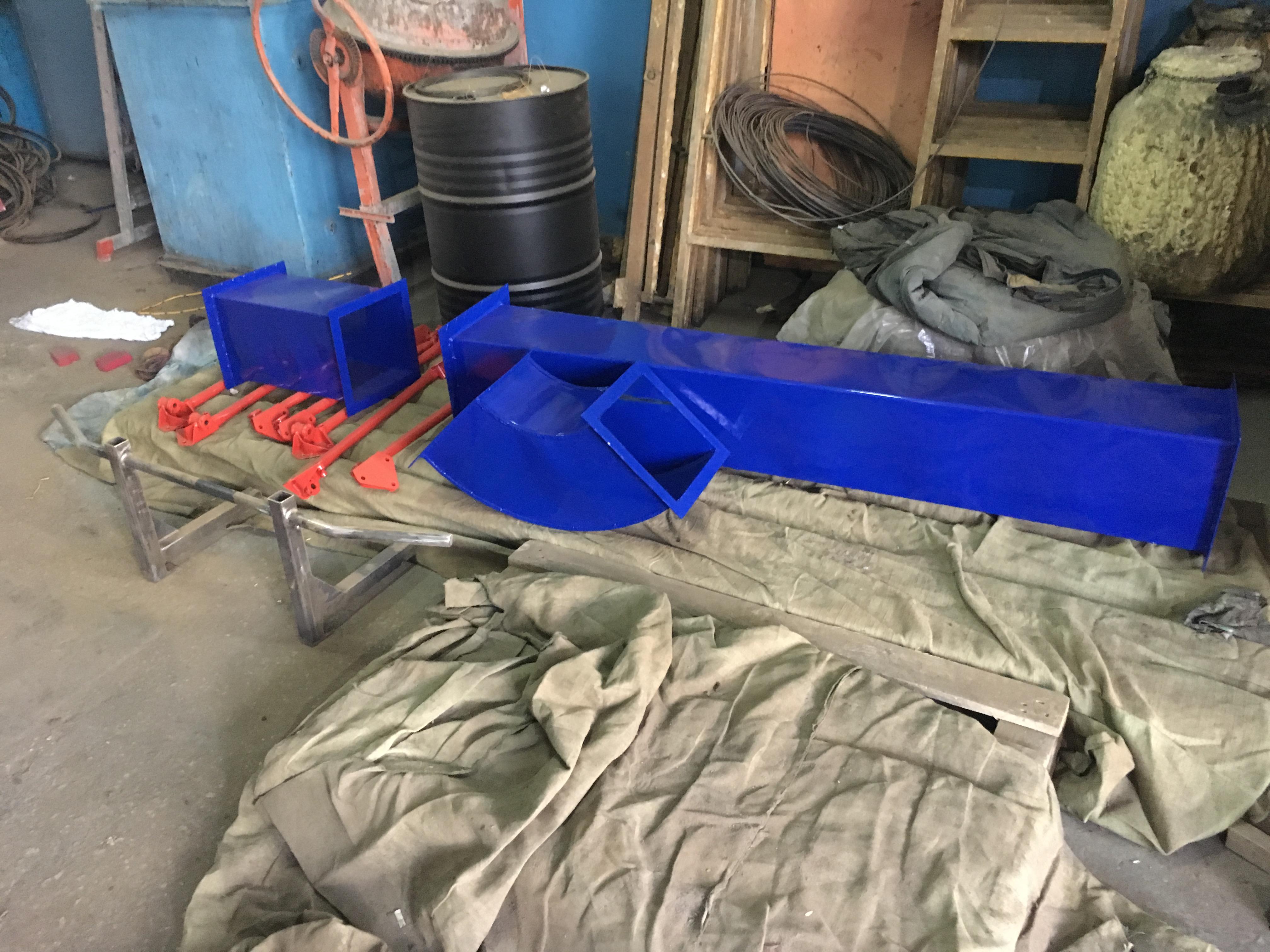 Порошковая покраска труб вентиляционных в Самарской области