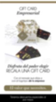 Gift card empresarial