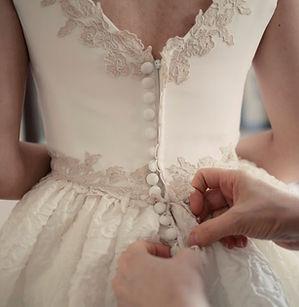 fotos detalle bodas vestido novia botone