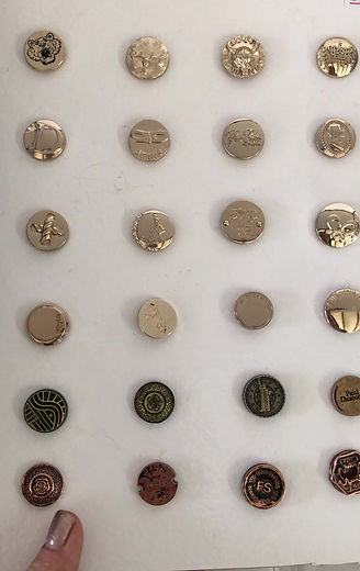 Botones para jean personalizados