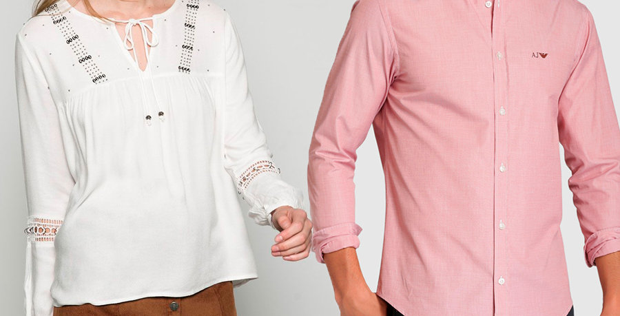 Blusa y camisa tela thriller