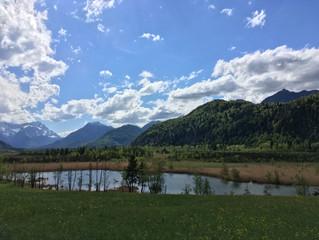 Mountainbiken im Blauen Land