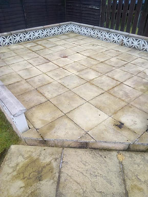 Patio cleaning Fife