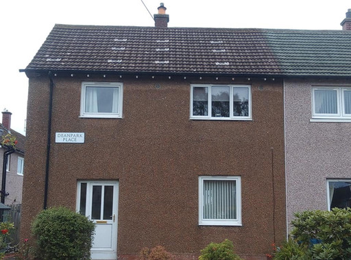 roof cleaned Dunfermline