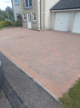 Driveway cleaning Aberdour