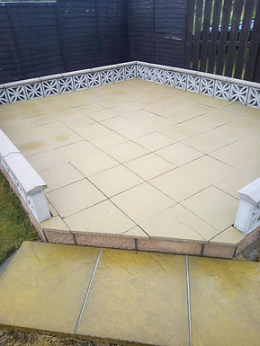 Path and slabs cleaning fife