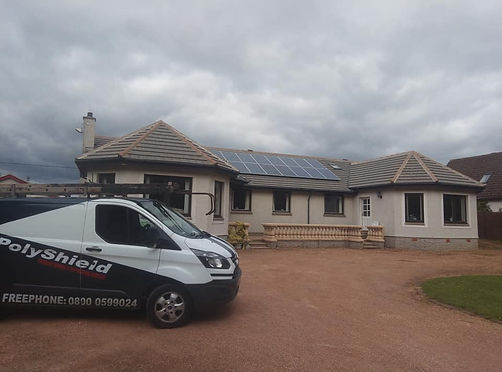 Roof cleaning Fife