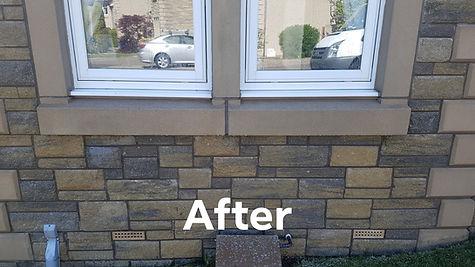 Walls cleaned Fife
