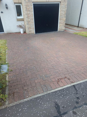 Driveway cleaning Kirkcaldy
