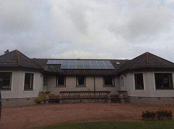 Roof softwashing Fife