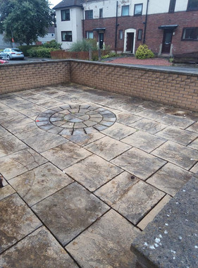 patio cleaning Rosyth