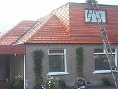 Roof powerwashed in Fife