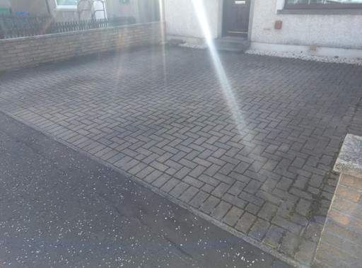 Driveway cleaning Burntisland