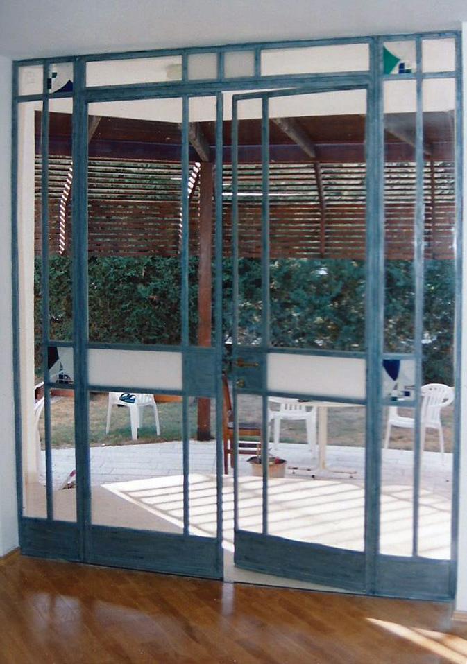 דלת בלגית יציאה למרפסת