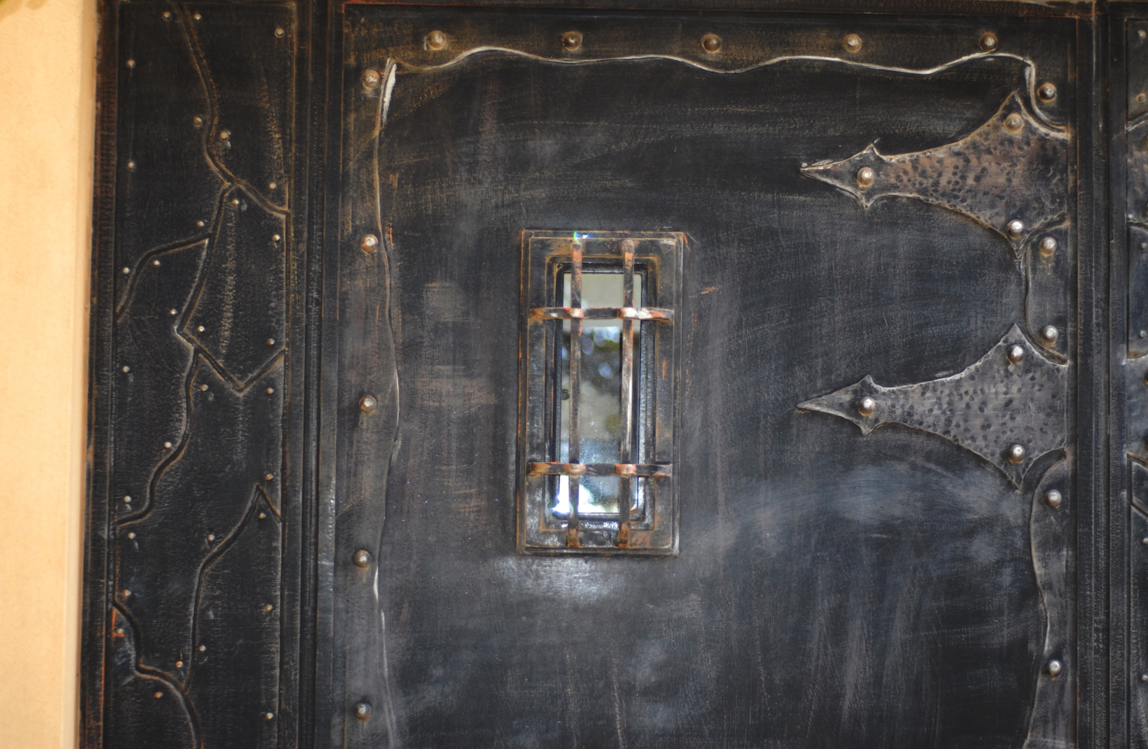 דלת כניסה, עבודת פאזל בנפחות