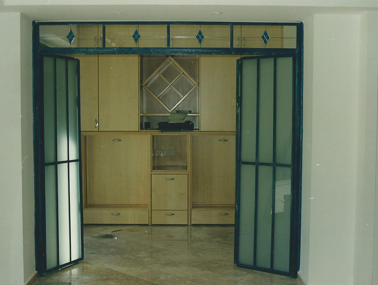 דלת בלגית פנימית הרמוניקה