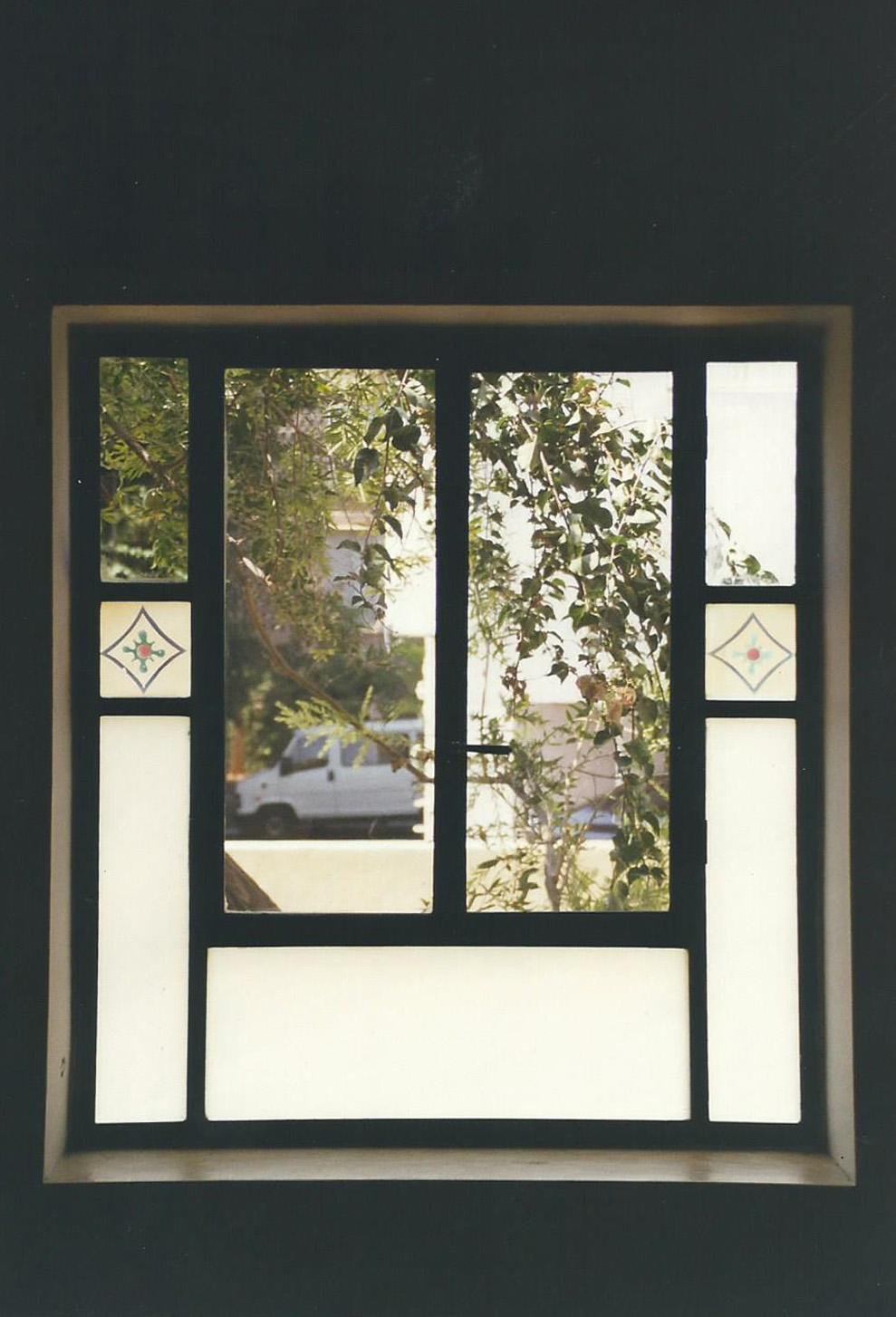 חלון בלגי מעוצב
