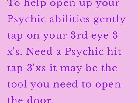 Need a Quick Psychic Hit, Try this one!
