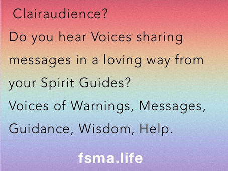 Have you had a Clairaudience Experienced? Do you hear Voices?