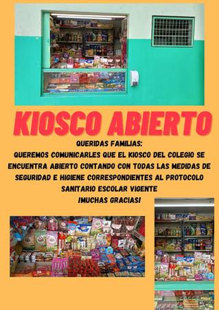 Kiosco Abierto