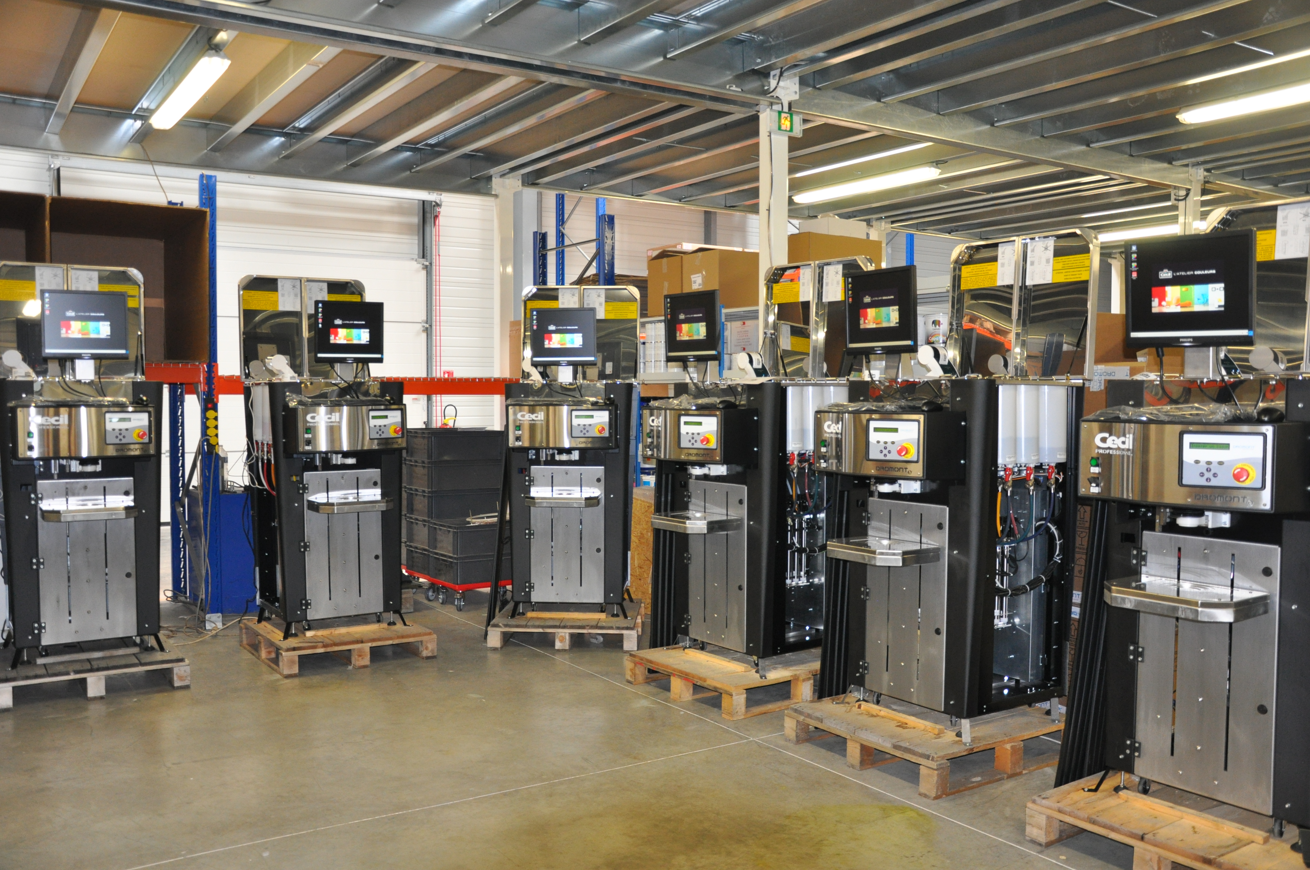 Préparation de machines V33