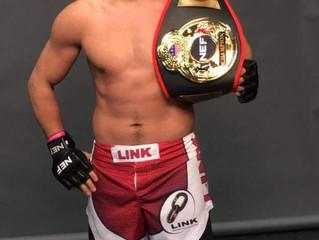 Western Mass MMA Champion Kemran Lachinov! Team Link welterweight fighter went to Maine to capture t