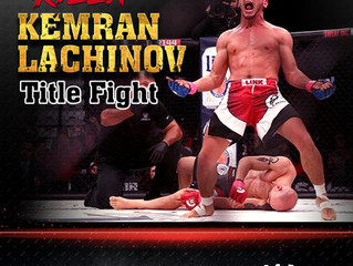 Our very own Kemran Lachinov from Western Mass will be fighting on Feb 3rd for MMA 170lb Welterweigh