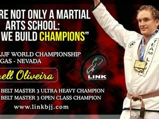 Darrell Oliveira 2017 IBJJF Brown Belt World Champion!!!