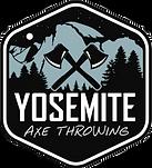 Yosemite Axe Throwing Logo