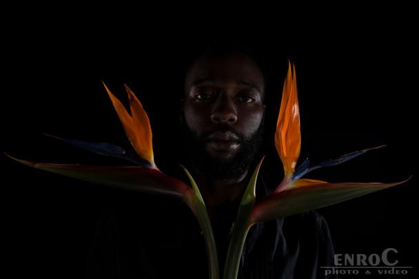 Beard and Flowers