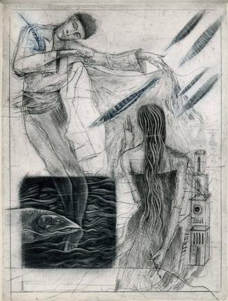 """Wystawa grafik Ewy Kutylak """"Ciało, ruch, taniec"""""""
