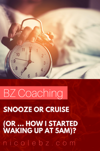 Waking up at 5am to change the way you run your business